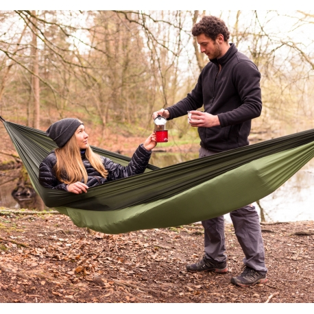 Hammock SILK TRAVELLER, THERMO, (450 g.)
