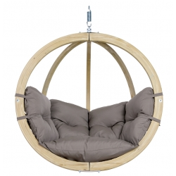 Hammock GLOBO CHAIR, Taupe