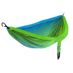 Eno DOUBLENEST Print, Fade Teal Chartreuse