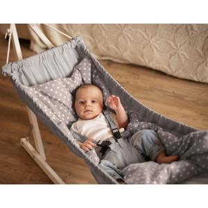 Hammock for babies KOALA (Silver)